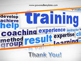 Training and Coaching Word Cloud PowerPoint Template#20