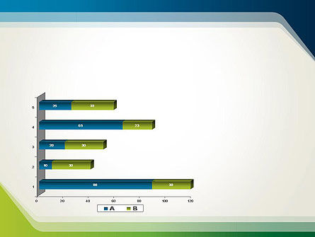 Green and Blue Frame PowerPoint Template Slide 11