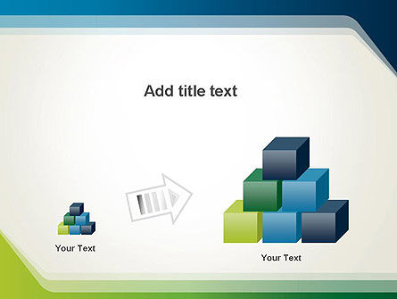 Green and Blue Frame PowerPoint Template Slide 13