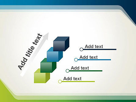 Green and Blue Frame PowerPoint Template Slide 14