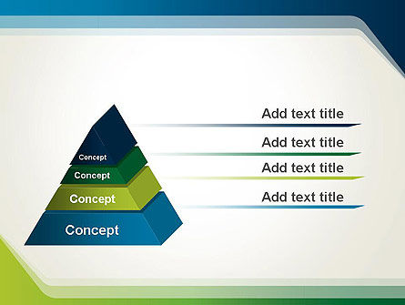 Green and Blue Frame PowerPoint Template Slide 4