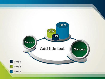 Green and Blue Frame PowerPoint Template Slide 6