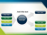 Green and Blue Frame PowerPoint Template#15