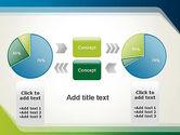 Green and Blue Frame PowerPoint Template#16