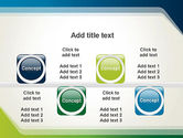 Green and Blue Frame PowerPoint Template#18