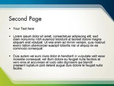 Green and Blue Frame PowerPoint Template#2