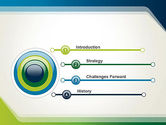 Green and Blue Frame PowerPoint Template#3
