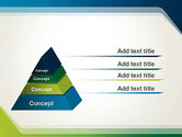 Green and Blue Frame PowerPoint Template#4