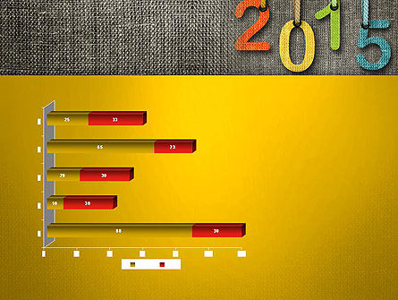 Happy New Year 2015 PowerPoint Template Slide 11