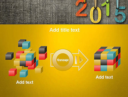 Happy New Year 2015 PowerPoint Template Slide 17