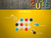 Happy New Year 2015 PowerPoint Template#10