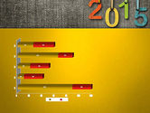 Happy New Year 2015 PowerPoint Template#11