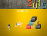Happy New Year 2015 PowerPoint Template#13