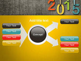 Happy New Year 2015 PowerPoint Template#15