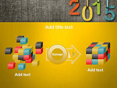Happy New Year 2015 PowerPoint Template#17
