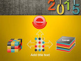 Happy New Year 2015 PowerPoint Template#19