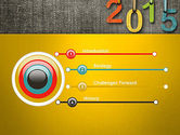 Happy New Year 2015 PowerPoint Template#3