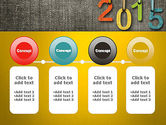 Happy New Year 2015 PowerPoint Template#5