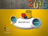 Happy New Year 2015 PowerPoint Template#6