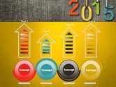 Happy New Year 2015 PowerPoint Template#7