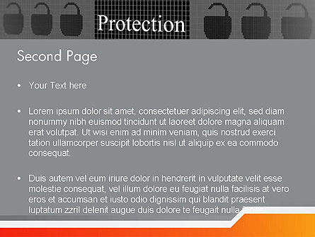 Data Security and Protection PowerPoint Template, Slide 2, 12669, Technology and Science — PoweredTemplate.com
