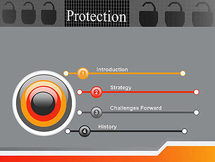 Data Security and Protection PowerPoint Template, Slide 3, 12669, Technology and Science — PoweredTemplate.com