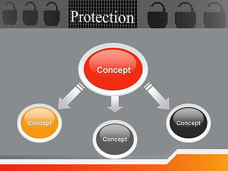 Data Security and Protection PowerPoint Template, Slide 4, 12669, Technology and Science — PoweredTemplate.com
