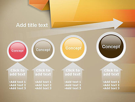 Abstract Colored Steps PowerPoint Template Slide 13