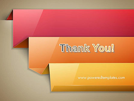 Abstract Colored Steps PowerPoint Template Slide 20