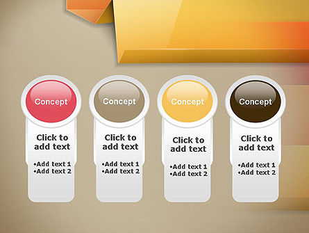 Abstract Colored Steps PowerPoint Template Slide 5