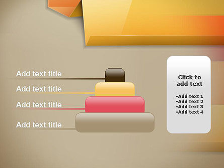 Abstract Colored Steps PowerPoint Template Slide 8