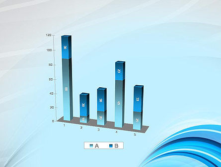 Abstract Blue Arcs PowerPoint Template Slide 17