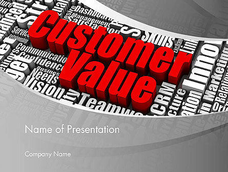 Consulting: Customer Value PowerPoint Template #12674