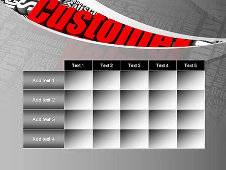 Customer Value PowerPoint Template Slide 15