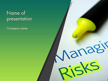 Managing Risks PowerPoint Template