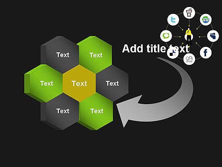 Social Media Optimization PowerPoint Template Slide 11