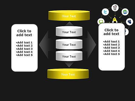 Social Media Optimization PowerPoint Template Slide 13