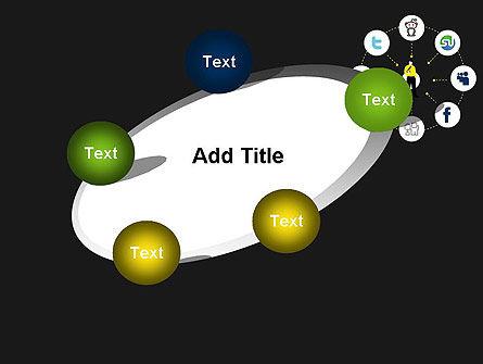 Social Media Optimization PowerPoint Template Slide 14