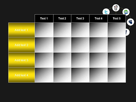 Social Media Optimization PowerPoint Template Slide 15