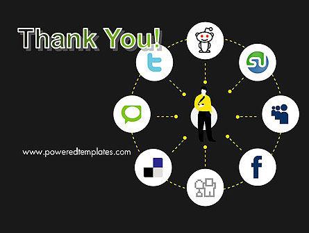 Social Media Optimization PowerPoint Template Slide 20