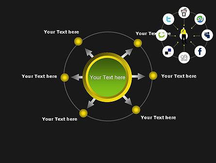 Social Media Optimization PowerPoint Template Slide 7