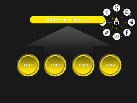 Social Media Optimization PowerPoint Template Slide 8