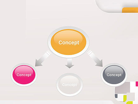 Abstract Application of Paper PowerPoint Template, Slide 4, 12681, Abstract/Textures — PoweredTemplate.com