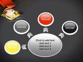 Wireframe Globe PowerPoint Template#7