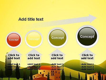 Valley Village PowerPoint Template Slide 13