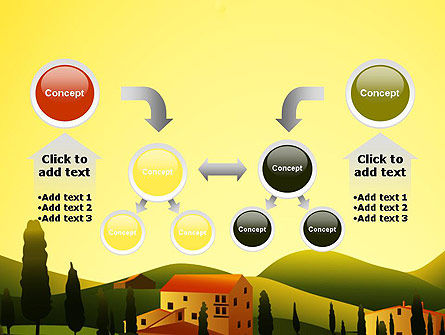 Valley Village PowerPoint Template Slide 19