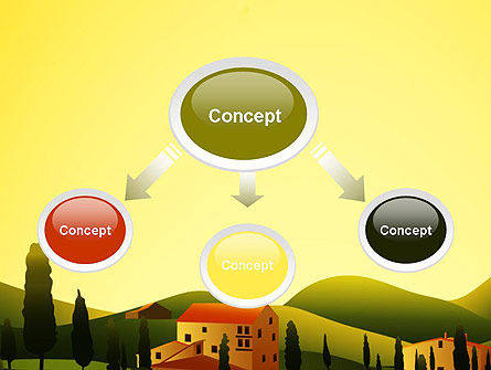 Valley Village PowerPoint Template Slide 4