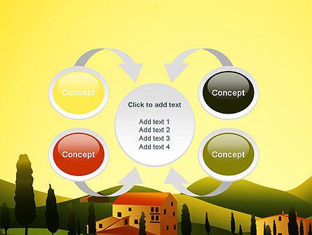 Valley Village PowerPoint Template Slide 6