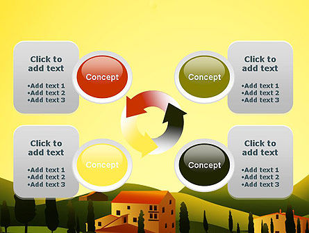 Valley Village PowerPoint Template Slide 9