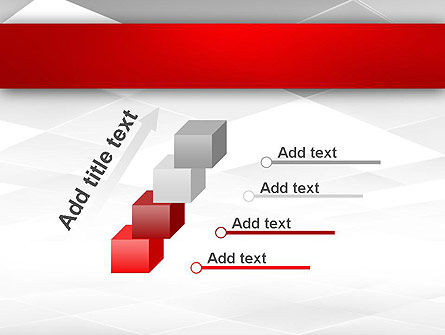 Gray Squares with Perspective PowerPoint Template Slide 14